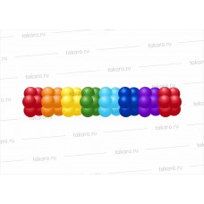 Гирлянда двухцветная 6